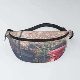 Red Postbox In Spring Fanny Pack