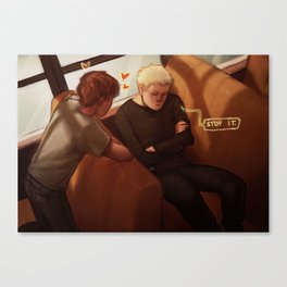 all for the game Canvas Print