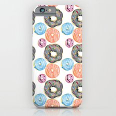 Watercolor donuts iPhone 6s Slim Case