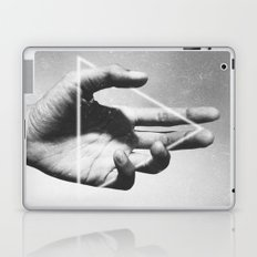 hand + triangle Laptop & iPad Skin