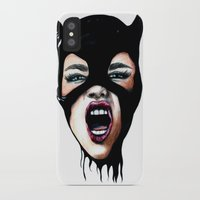 scream iPhone & iPod Cases featuring Scream by Bella Harris