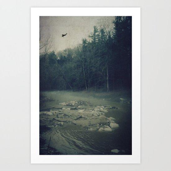 Darkness Prevails Art Print