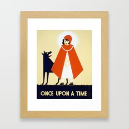 Once Upon a Time... Framed Art Print