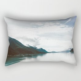 Alaskan Waters Rectangular Pillow