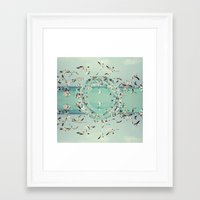 witchoria Framed Art Prints featuring Flight.  by witchoria