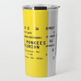Concert Ticket Stub - The Monkees Reunion Travel Mug