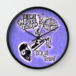 Jedi Mouse Trap Wall Clock