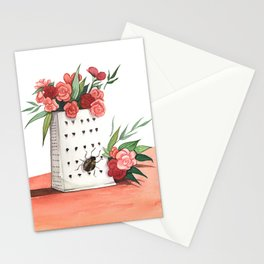 Unexpected Terrarium Bug Stationery Cards