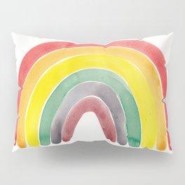 Watercolour rainbow Pillow Sham