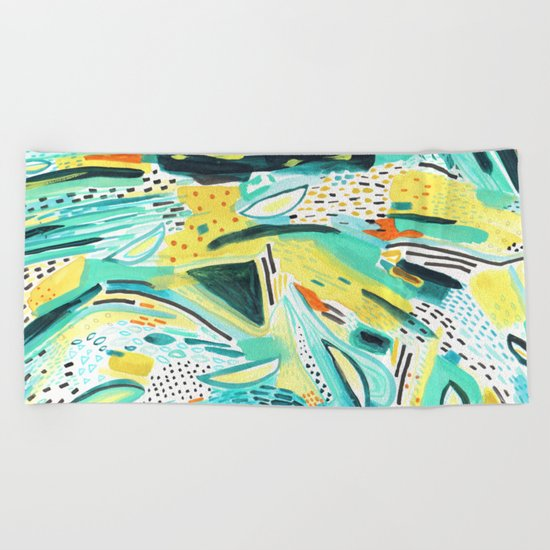 pattern 30 Beach Towel