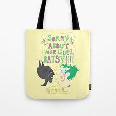 sorry batsy Tote Bag