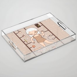 MUOUS Doll Acrylic Tray