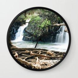 Twin Falls Wall Clock