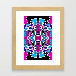 Bi-thon Python Framed Art Print