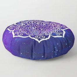 Galaxy Mandala Floor Pillow