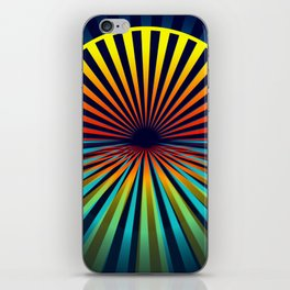 Sunset abstract 194 iPhone Skin