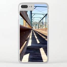 I'm on the Edge Clear iPhone Case