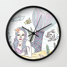 Mermaid! Wall Clock