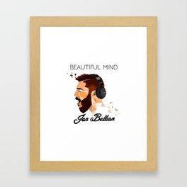 JON BELLION Framed Art Print