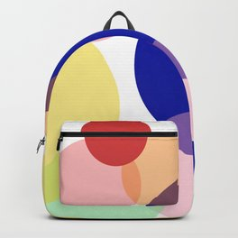 Art colors in circles Backpack