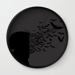 Brain Bats Wall Clock