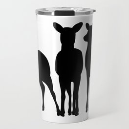Deer Silhouettes Travel Mug