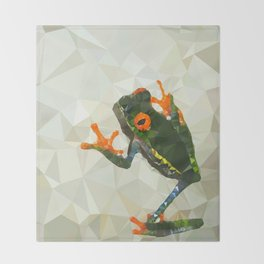 Treefrog Throw Blanket