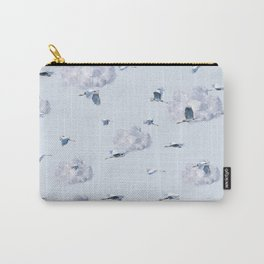 Blue Heron Skies Carry-All Pouch
