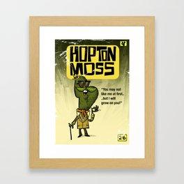 Hopton  Moss - Privet Detective Framed Art Print