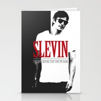 scarface Stationery Cards featuring Lucky Scarface Slevin. by Agu Luque