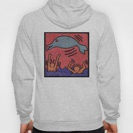 Keith Haring Dolphin Hoody