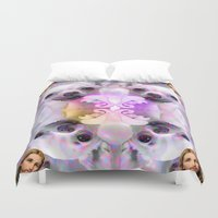 chihuahua Duvet Covers featuring CHIHUAHUA by Riot Clothing
