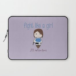 Fight Like a Girl 31 - Jill Valentine Laptop Sleeve