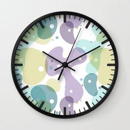 Абстракция пятна Wall Clock