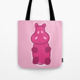 Gummy Hippo - Pink Tote Bag