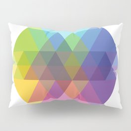 Fig. 040 Hexagon Shapes Pillow Sham
