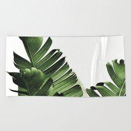 Banana leaf Beach Towel