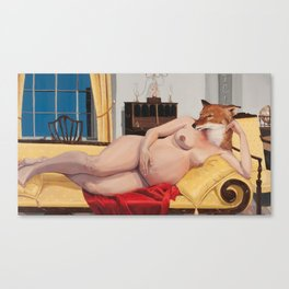 McIntire Room Canvas Print