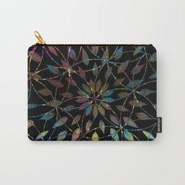 Boho Mandala Flower Splatter Carry-All Pouch