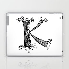 Letter K Laptop & iPad Skin