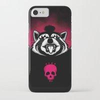 raccoon iPhone & iPod Cases featuring Raccoon! by pigboom el crapo