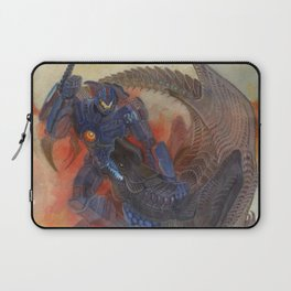 Battle of titans Laptop Sleeve