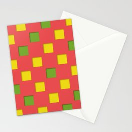 checkered pattern #27 Stationery Cards