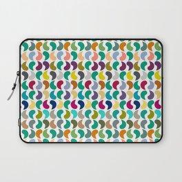 Seamless Colorful Geometric Shapes Pattern II Laptop Sleeve