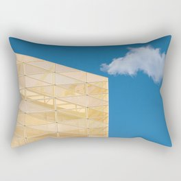Architectural elements of Central Bank of Ireland Rectangular Pillow