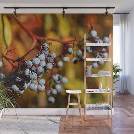 Fall Elderberries. Wall Mural