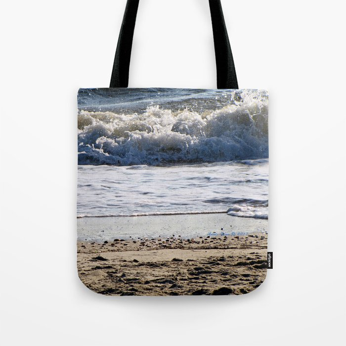 6af09e8b8731 Cape May Beach New Jersey By Annie Zeno Tote Bag by anniezeno