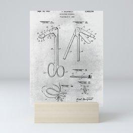 Episiotomy scissors Mini Art Print