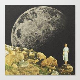 Mount Moon Canvas Print