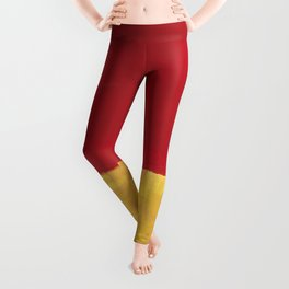 Rothko Red Yellow Untitled Leggings